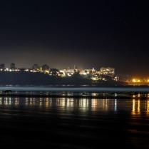 Boring San Diego at night